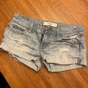 Abercrombie Jean / Denim Short Shorts